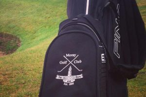Golf bag embroidery