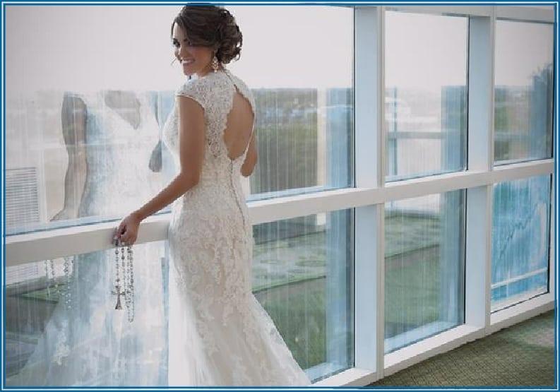 Hem Over Heels Wedding Dress Alteration