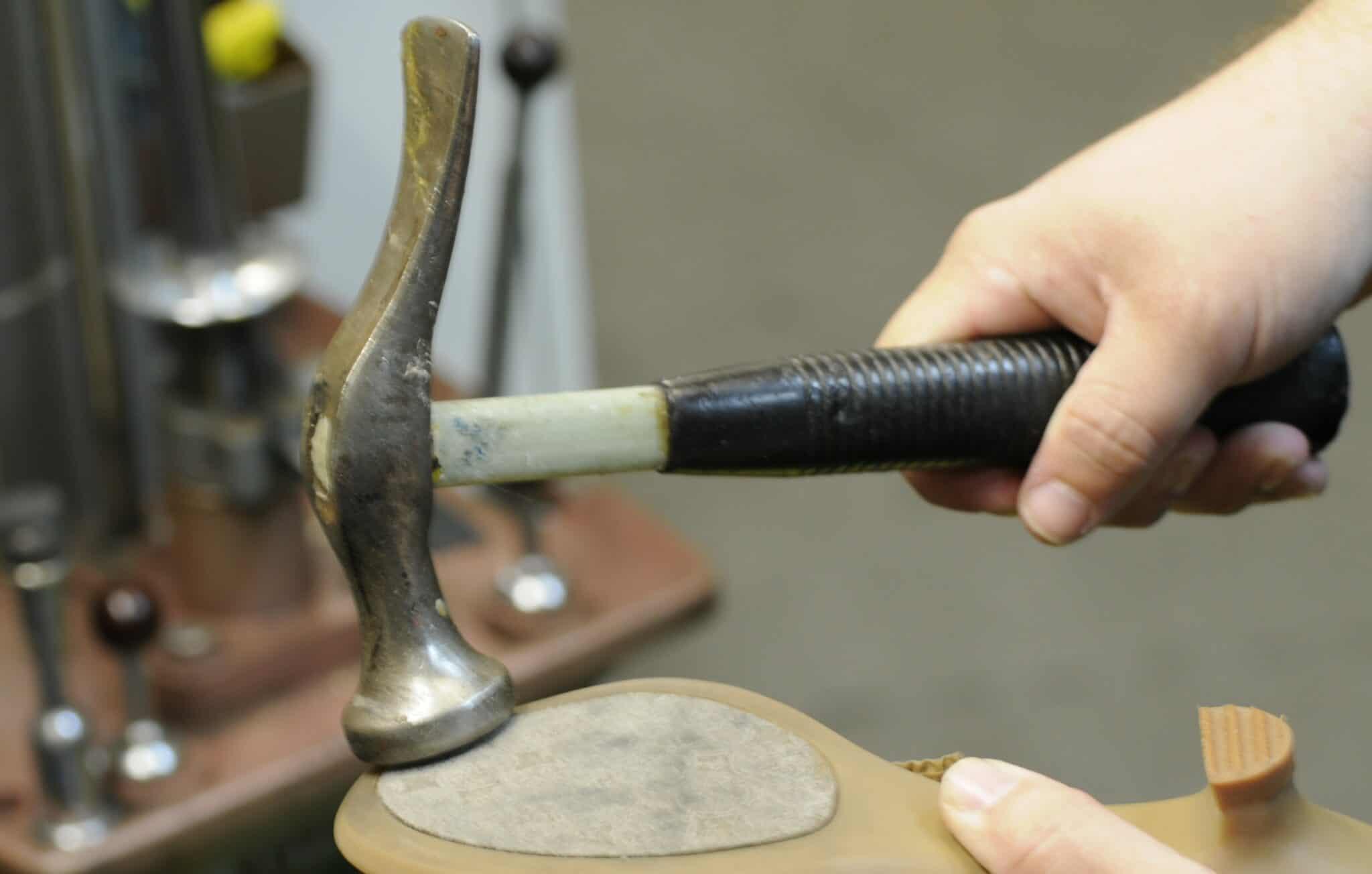 Shoemaker's Hammer at Hem Over Heels