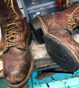 Work boots full rubber soles 4