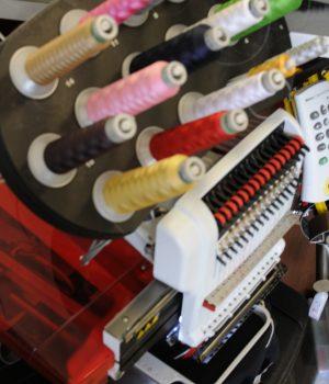 Amaya single head embroidery machine