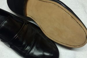 Men's Full Leather Soles Done at Hem Over Heels