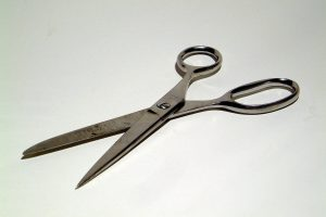 Regular scissors sharpening at Hem Over Heels